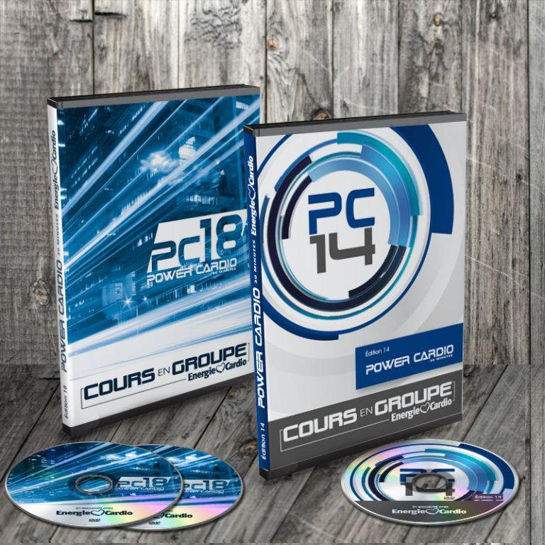 DVD Power Cardio d'Énergie Cardio